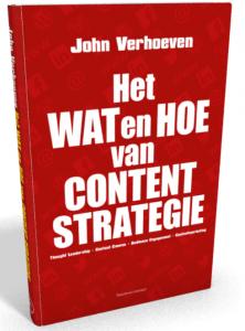 cover boek Het Wat en Hoe van Contentstrategie